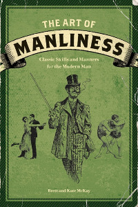 the art of manliness, buchcover