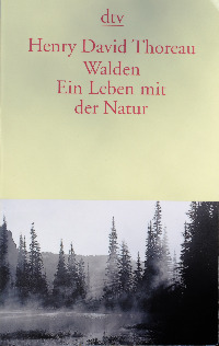 Henry David Thoreau, Walden, Buchcover