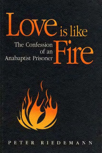 peter riedemann, love is like fire, buchcover