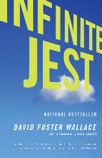 David Foster Wallace, Infinite Jest, Buchcover