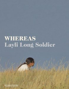 layli long soldier, whereas, Buchcover