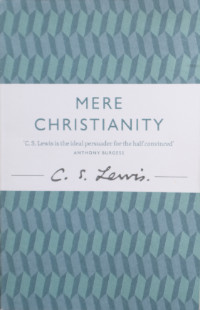 Mere Christianity, CS Lewis, Buchcover